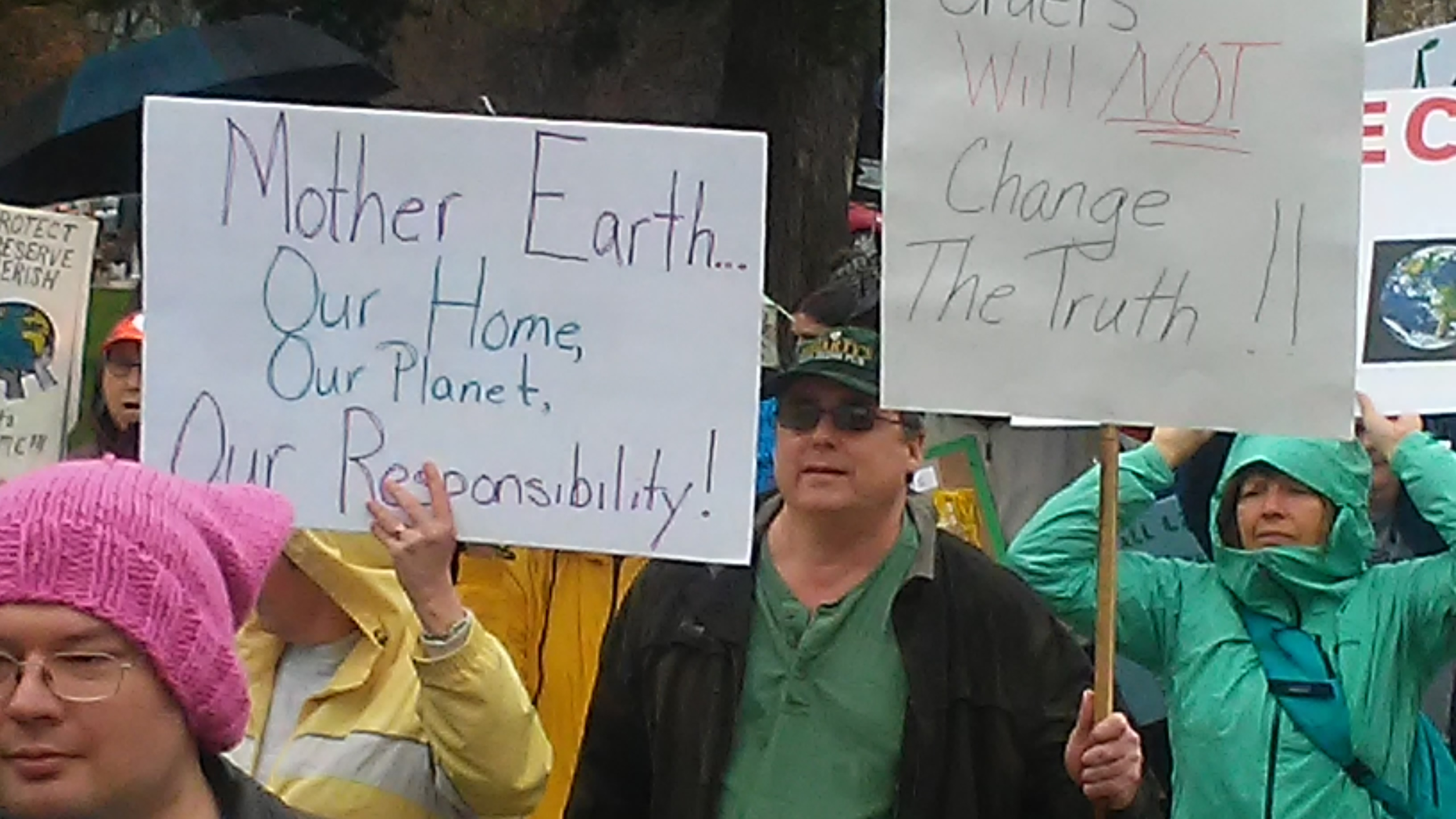 People's Climate March Activists at Bronson Park