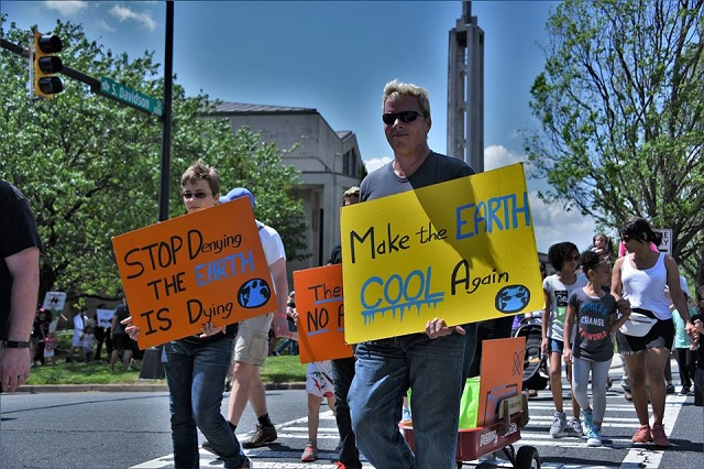 Science March in Charlotte, North Carolina